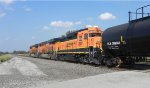 BNSF 2807 trails 3rd on BNSF Mixed Freight